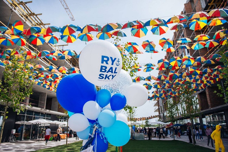 28 may in the day of kyiv the opening of walk bulvar in  RYBALSKY!